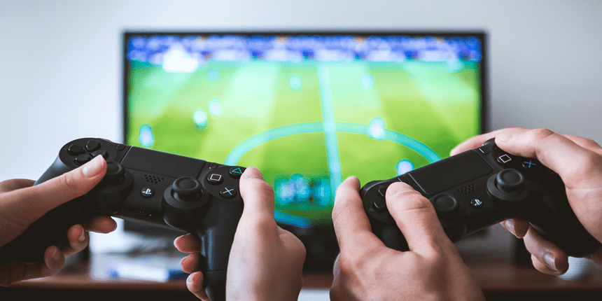 Football games on console China